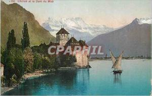 Ansichtskarte AK Chillon et le Dent du Midi