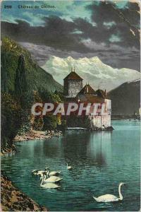 Ansichtskarte AK Chateau de Chillon
