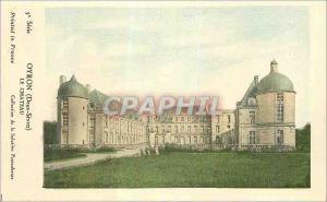 Ansichtskarte AK Oyron (Deux Sevres) Le Chateau
