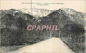 Ansichtskarte AK Le Canigou (2785 m) Vue de la Route de Villefranche a Vernet les Bains