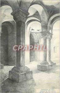 Ansichtskarte AK Collegiale de Huy Crypte du XIe Siecle