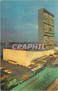 Moderne Karte United Nations at Night