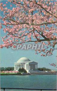 Moderne Karte Washington D C Jefferson Memorial