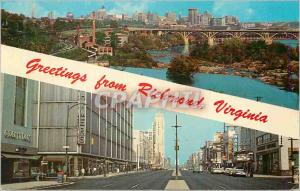 Moderne Karte Richmond Capital City of Virginia