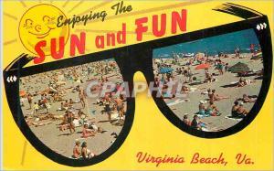 Moderne Karte Virginia Beach Sun and Fun