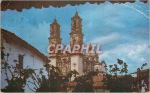 Moderne Karte Taxco Catedral Santa Prisca