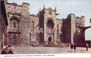 Moderne Karte Edinburgh Entrance to Scottish National War Memorial