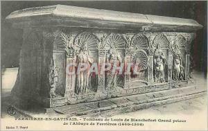 Ansichtskarte AK Ferrieres en Gatinais Tombeau de Louis de Blanchefort Grand prieur
