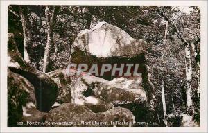 Moderne Karte Foret de Fontainebleau Mont Chauvet La Roche qui Remue
