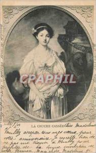 Ansichtskarte AK La Cruche Cassee Greuze
