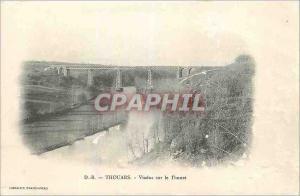 Ansichtskarte AK Thouars Viaduc sur le Thouet