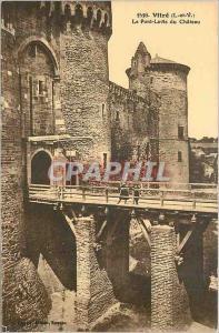 Ansichtskarte AK Vitre (I et V) Le Pont Levis du Chateau