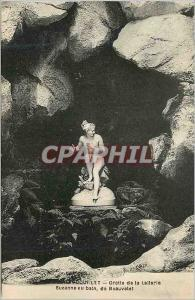 Ansichtskarte AK Rambouillet Grotte de la Lalterle Suzanne au Bain de Beauvelet