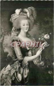Moderne Karte Versailles et ses Merveilles Marie Antoinette Reine de France par Madame Vigee Lebrun
