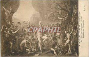 Ansichtskarte AK Musee du Louvre Ecole Francaise David (Jaques Louis) Leonidas aux Thermopyles
