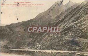 Ansichtskarte AK Route Thermale d'Argeles a Eaux Bonnes Les Hautes Pyrenees La Corniche et le Seton Moutons