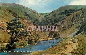 Moderne Karte Dovedale Below Thorpe Cloud