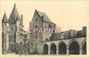 Ansichtskarte AK Vitre (I et V) Le Chateau Cour Interieure partie Sud Ouest
