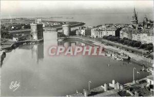 Moderne Karte La Rochelle (Ch Mar) Une Jolie vue sur le Port Bateaux