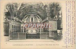 Ansichtskarte AK Cathedrale de Chartres La Chapelle de Notre Dame Sous Terre (carte 1900)