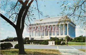 Moderne Karte Washington DC The Lincoln Memorial
