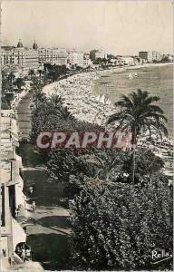 Moderne Karte Cannes La Cote d'Azur La Promenade de la Croisette