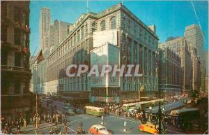 Moderne Karte New York Herald Square Broadway and 34 th Street
