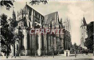 Moderne Karte Nantes (Loire Inferieure) Abside de la Cathedrale et Porte Saint Pierre