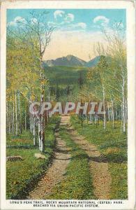 Ansichtskarte AK Long's Peak Trail Rocky Mountain National (Estes) Park Reached via Union Pacific System