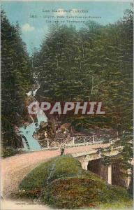 Ansichtskarte AK Gripp pres Bagneres de Bigorre Les Hautes Pyrenees Cascade du Tourmalet