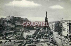 Moderne Karte Edinburgh Prince Street
