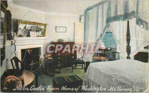Ansichtskarte AK Nellei Custis Room Mount Vernon Va