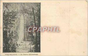 Ansichtskarte AK Vichy Bellerive La Source Intermittente (carte 1900)