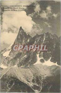 Ansichtskarte AK Chamonix (Hte Savoie) Massif du Mont Blanc Aiguille du Dru (3755 m)