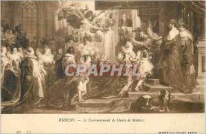 Ansichtskarte AK Musee du Louvre Paris Rubens Le Couronnement de Medicis