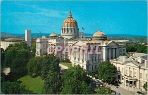 Moderne Karte State Capitol Buildings