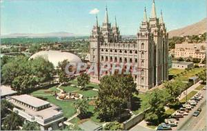 Moderne Karte Salt Lake City Utah Temple Square
