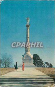 Moderne Karte The Yorktown Victory Monument at Yorktown Virginia