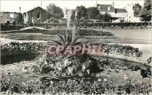 Moderne Karte Avranches (Manche) Jardin des Plantes