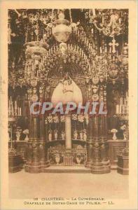 Ansichtskarte AK Chartres La Cathedrale Chapelle de Notre Dame du Pilier