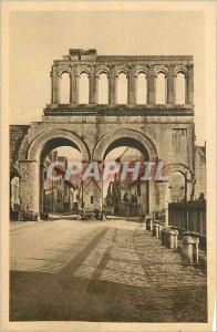 Ansichtskarte AK Autun Antique Porte Romaine dite d'Arroux (Exterieur)