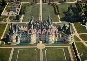 Moderne Karte Chambord (Loir et Cher) Les Chateaux de la Loire Contruit par Francois Ier dans le Parc de plus