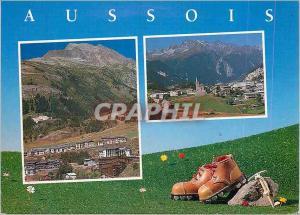 Moderne Karte Aussois Savoie