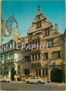 Moderne Karte Colmar (Haut Rhin) L'Alsace Couleurs et Lumiere de France Maison des Fetes