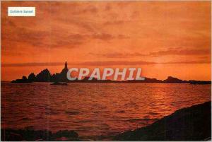 Moderne Karte Jersey CI Corbiere Sunset