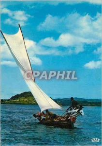 Moderne Karte Martinique Course de Gommiers Bateau