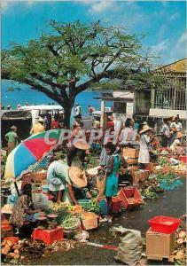 Moderne Karte Martinique Saint Pierre Le Marche