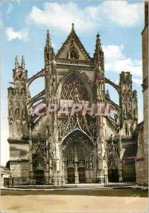 Moderne Karte Vendome (Loir et Cher) la Vallee du Loir la Facade Style Flamboyant du XVIe Siecle de l'Eglise d