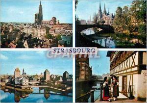 Moderne Karte Souvenir de Strasbourg l'Alsace Pittoresque