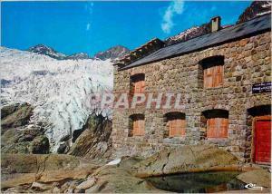 Moderne Karte Pelvoux Ailefroide (Htes Alpes) Refuge du Glacier Blanc (alt 2550m) Massif de l'Oisans